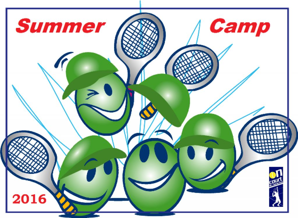 SUMMER CAMP 2016 by On Court Rio Tennis Club!