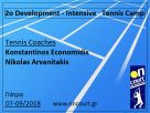 2o Development - Intensive Tennis Camp