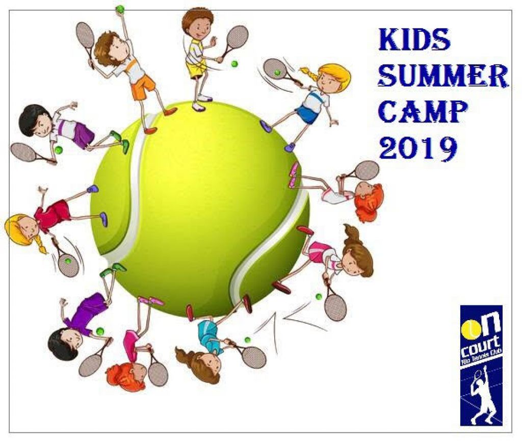 SUMMER CAMP 2019 by On Court Rio Tennis Club!
