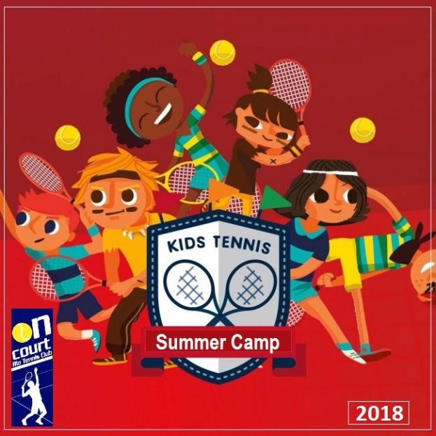 SUMMER CAMP 2018 by On Court Rio Tennis Club!